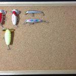 ルアーコレクションボードの作り方 ルアーを綺麗に飾る方法
