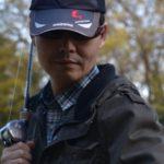 春の田舎の川で自己最大のナマズ(鯰)を釣りました